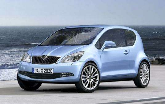 Skoda youngster