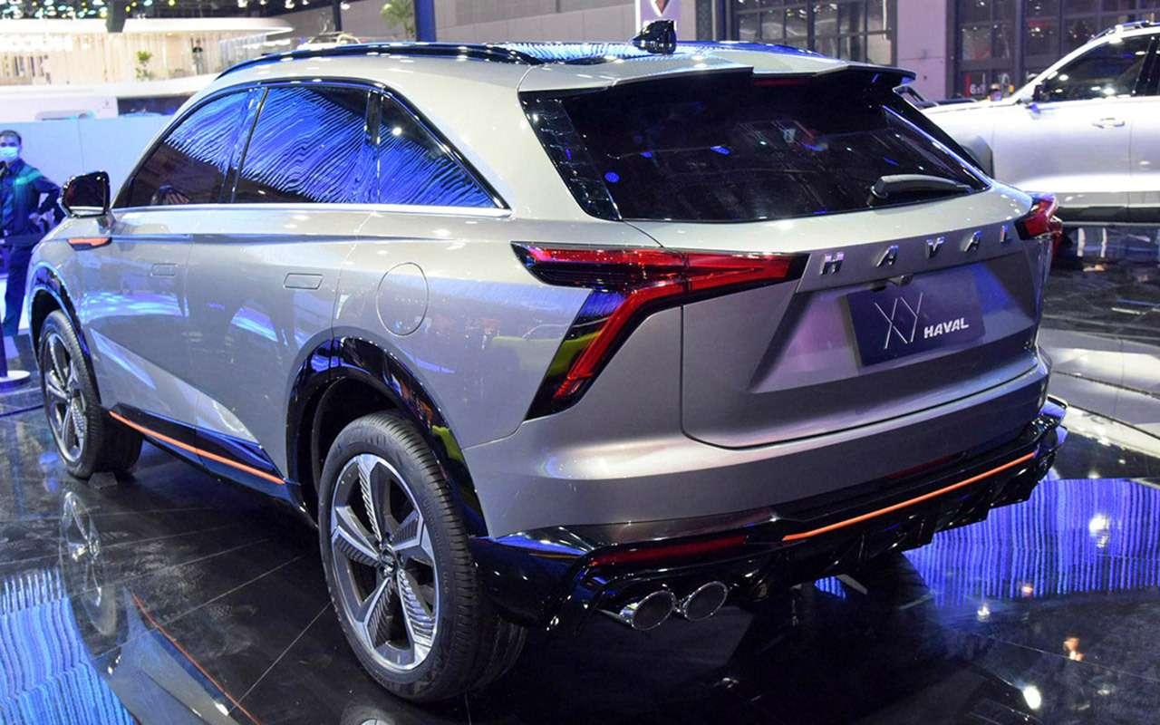 6 новых автомобилей изКитая— ждем вРоссии— фото 1243475