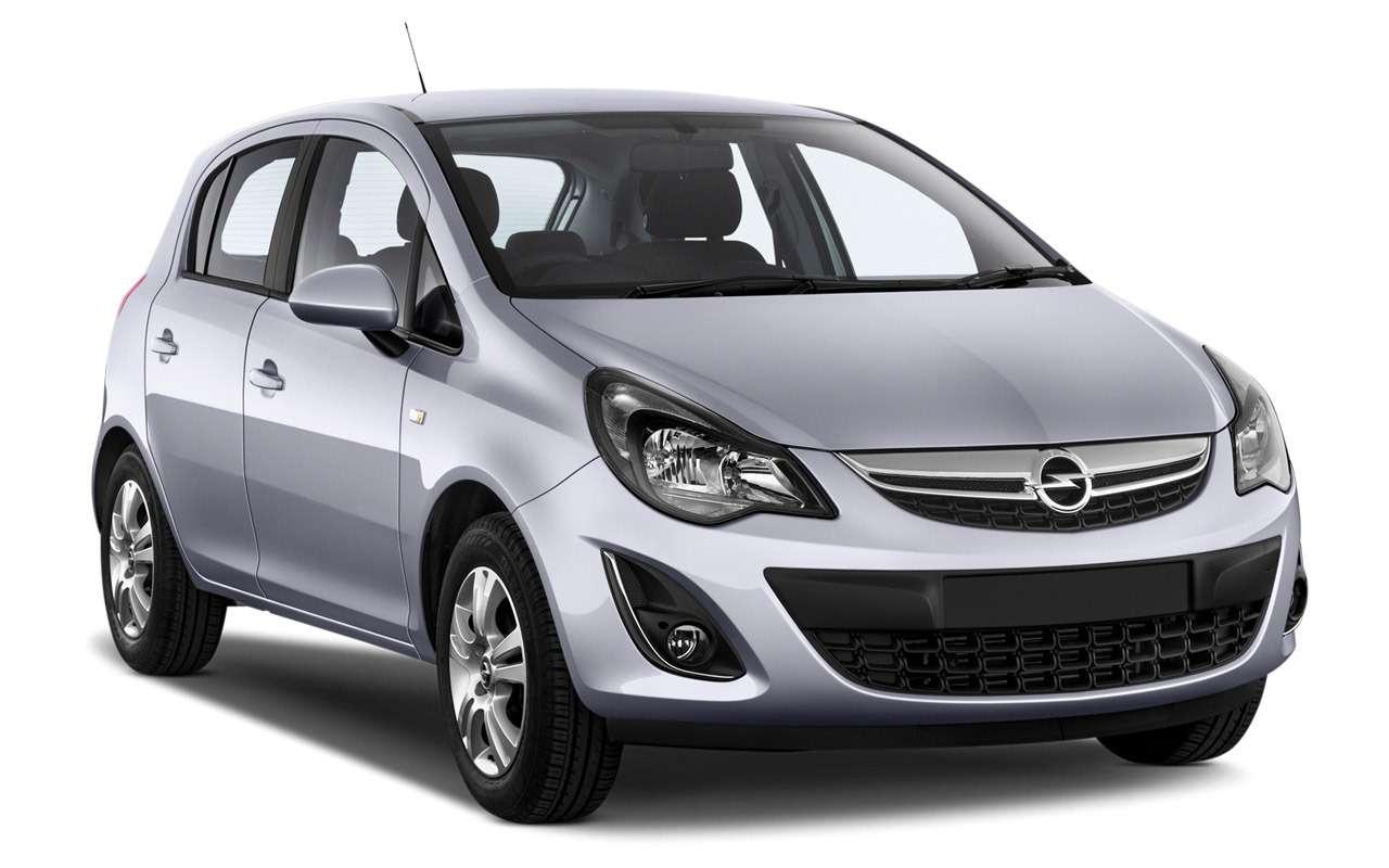 Opel Corsa за400000 рублей: выбираем лучший вариант— фото 993302