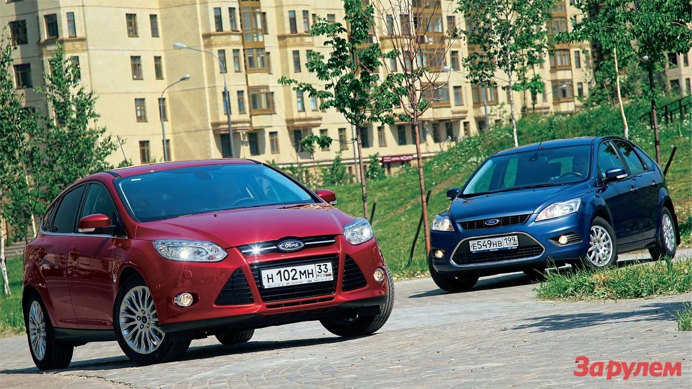 Ford Focus II, Ford Focus III