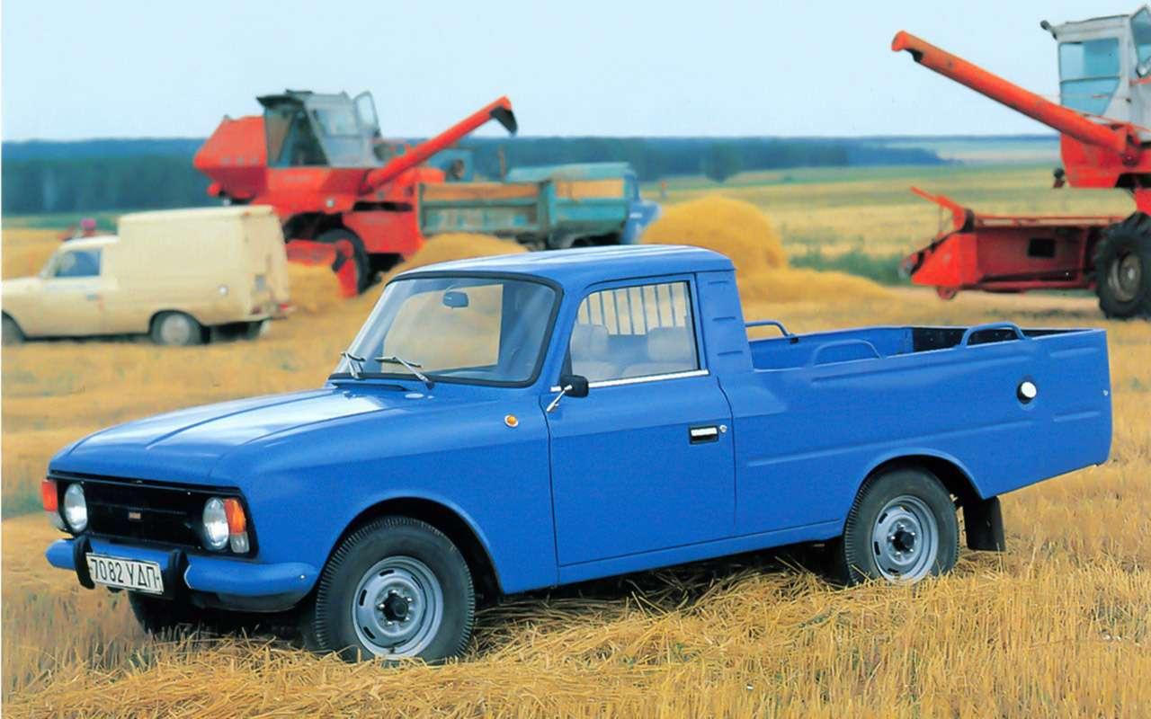 Уникальные версии Москвича-412: пикапы, спорткупе, хэтчбеки— фото 1053247
