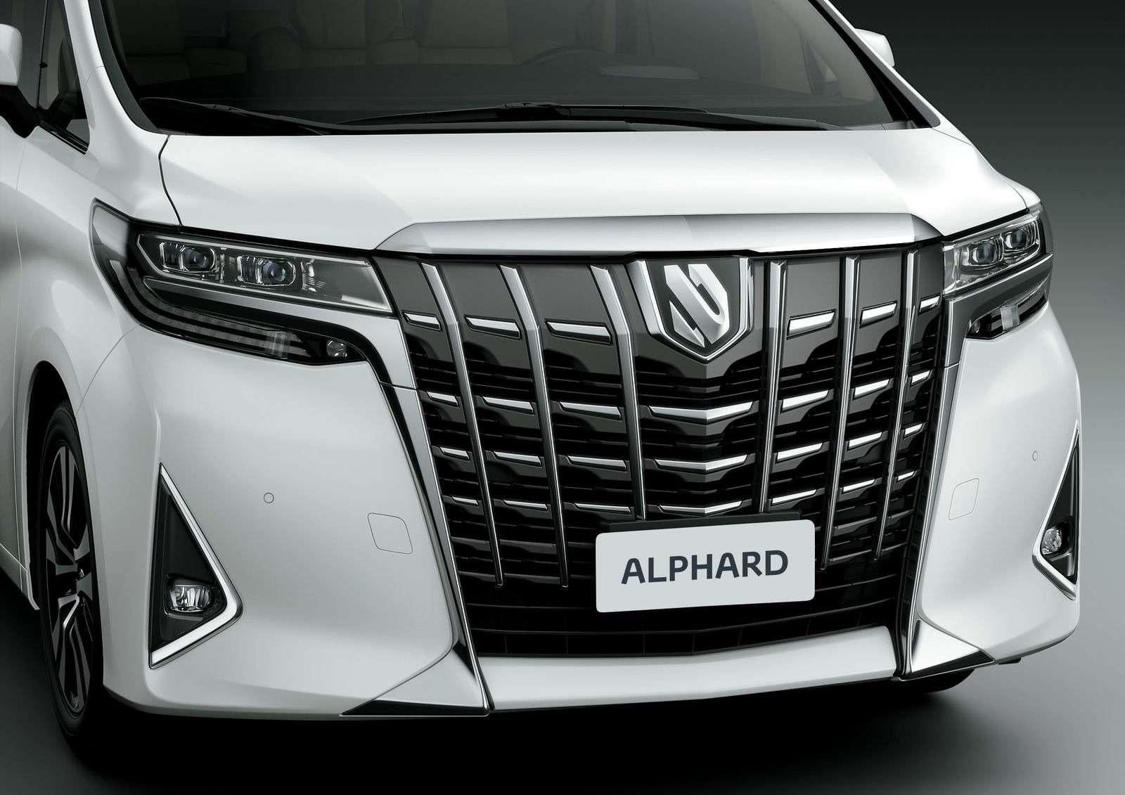 Обновленный Toyota Alphard вРоссии: немного мощнее изаметно дороже— фото 847016