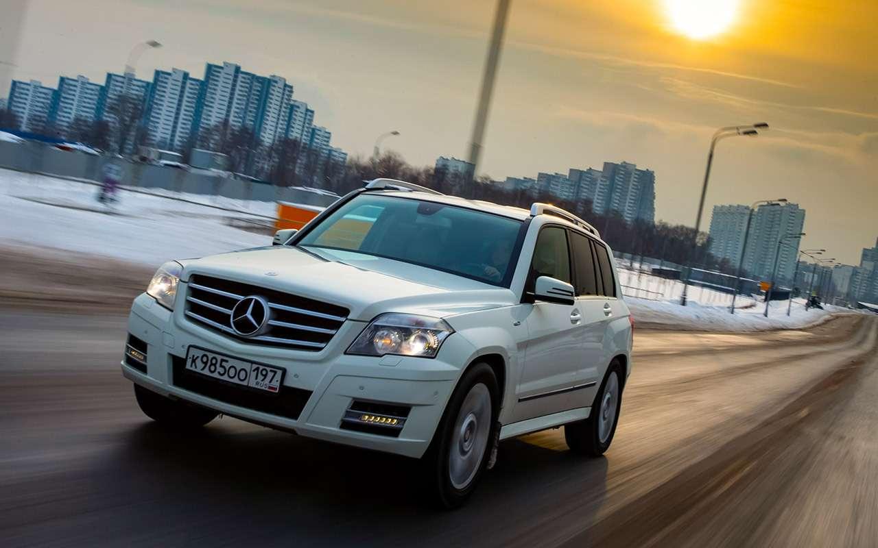 Новый VWPolo или старый Mercedes GLK? Выудивитесь!— фото 1231677