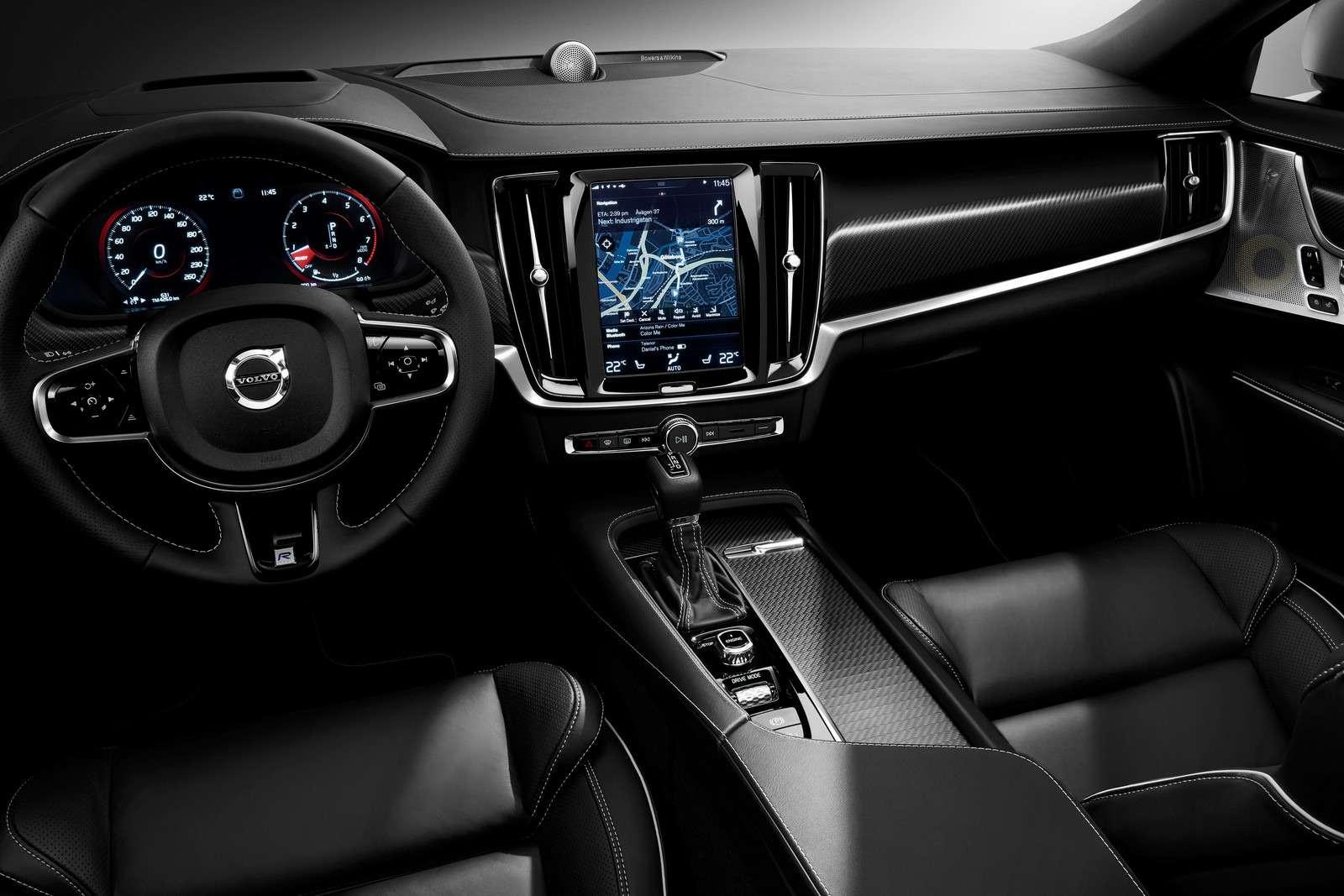 Volvo подготовила дляфлагманской модели спортпакет R-Design— фото 600939