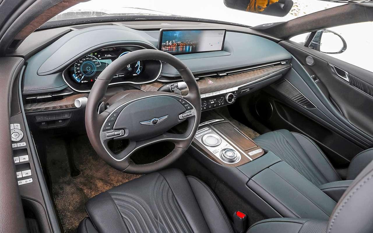 Тест бизнес-седана Genesis G80— фото 1247114