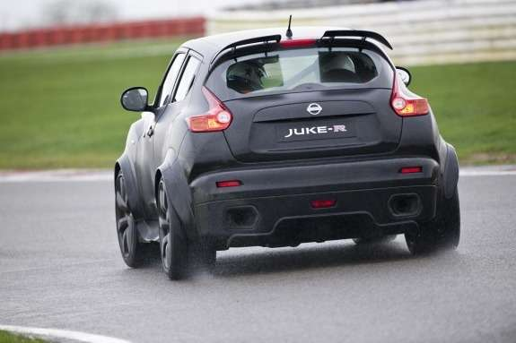 Nissan Juke-R rear view