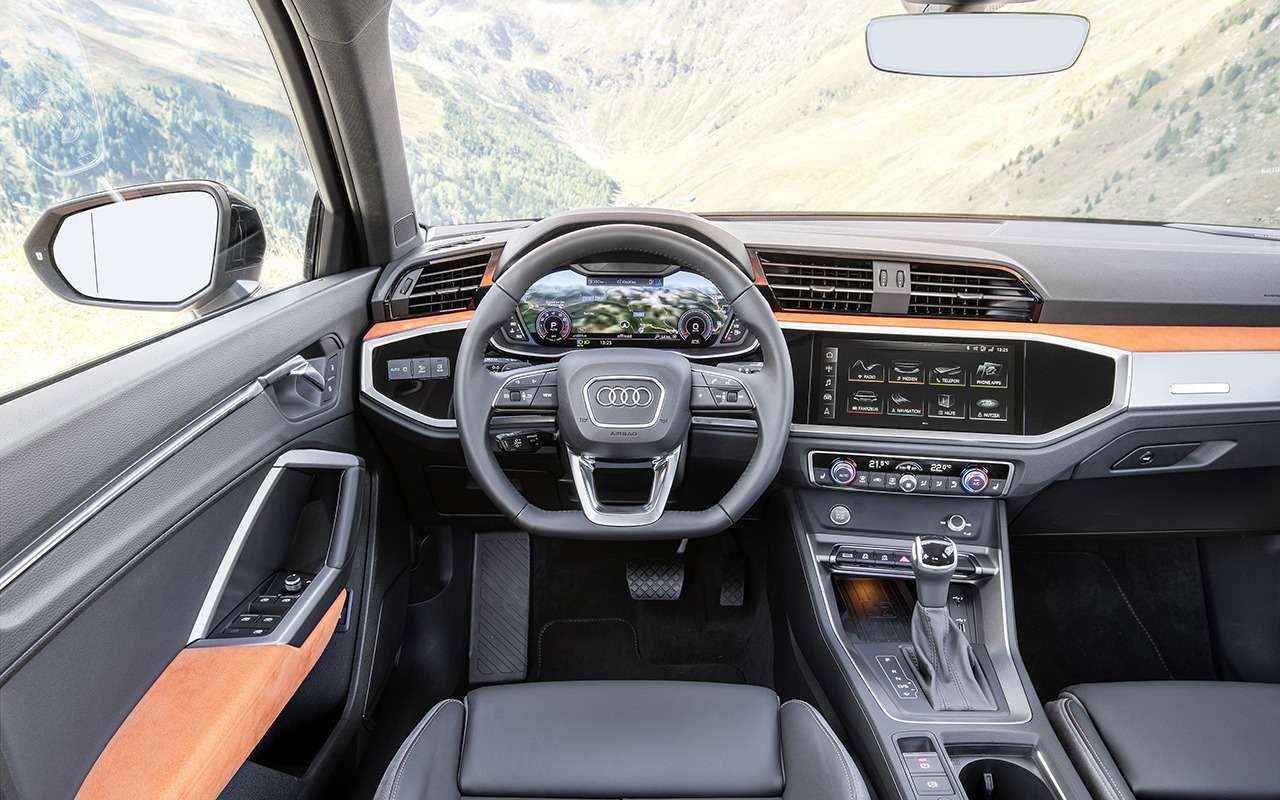 Выстрел из«кушки»: тест нового Audi Q3, которого вРоссии небудет— фото 907819