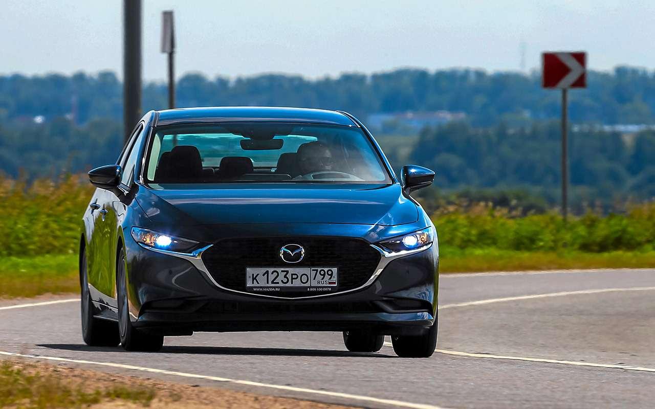 VWJetta, Kia Cerato, Mazda 3— тест-сравнение— фото 1156448