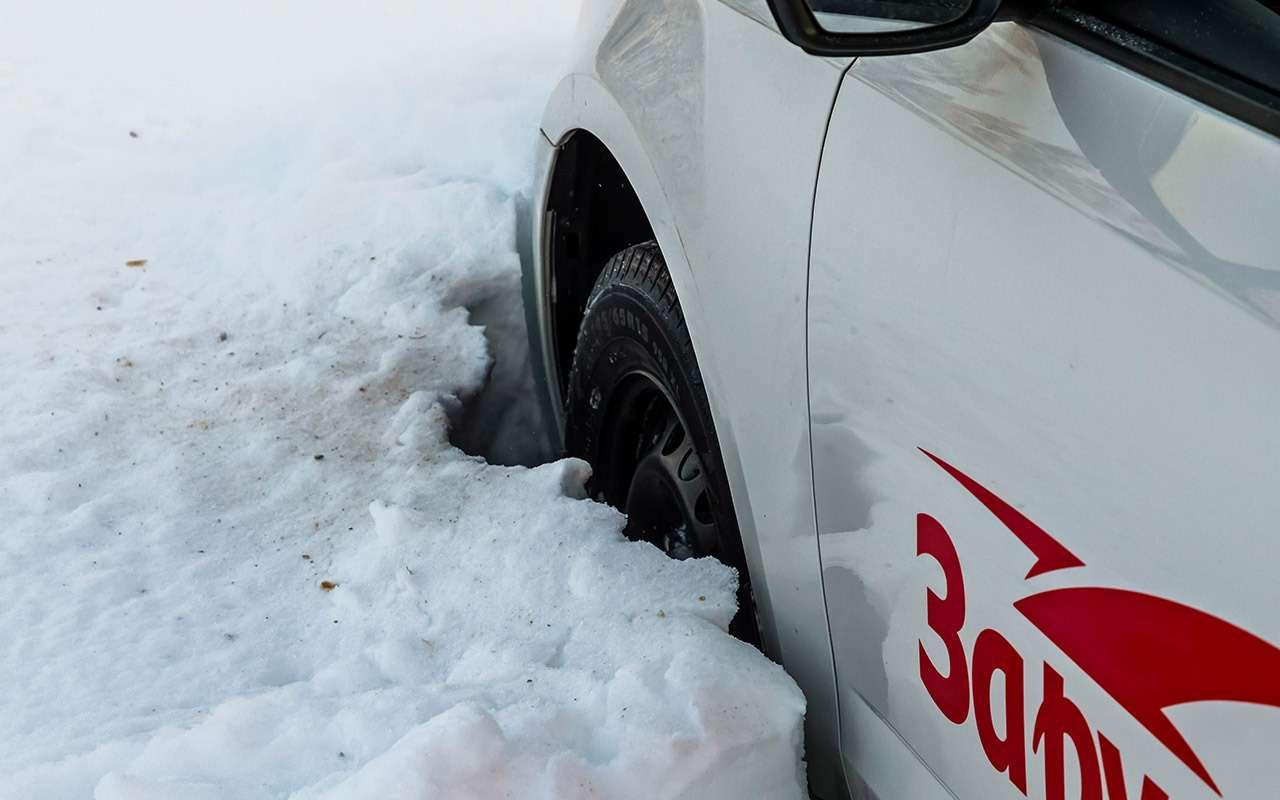 Большой тест зимних шин: выбор «Зарулем»!— фото 995080