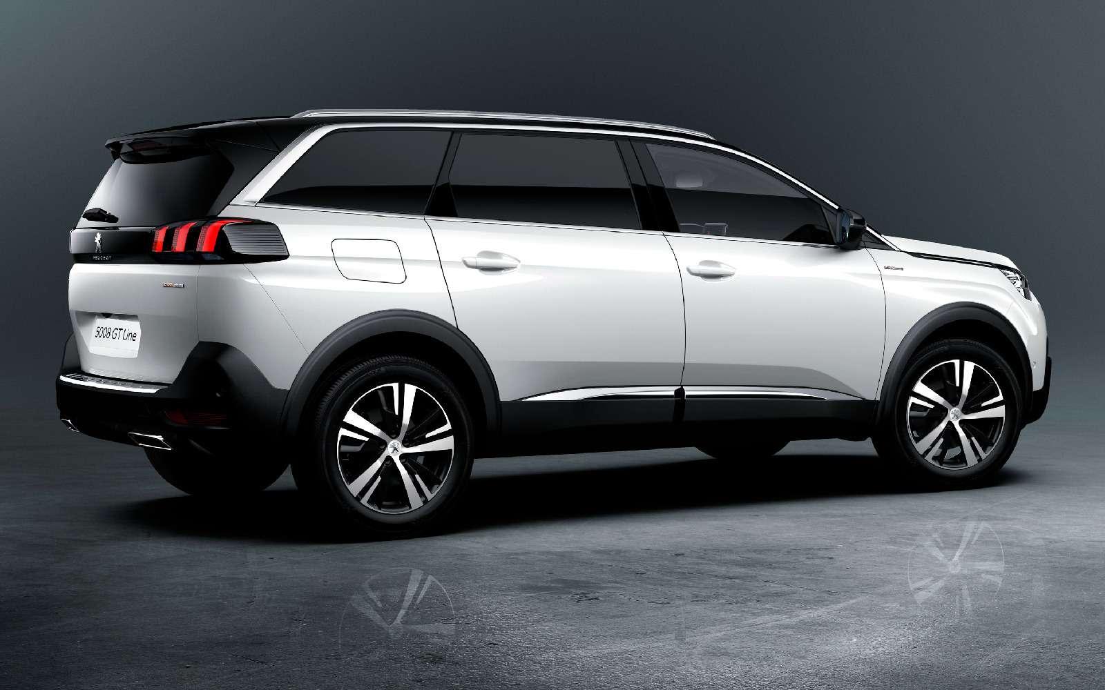 В России стартовали продажи кроссовера Peugeot 5008: цены икомплектации— фото 840568