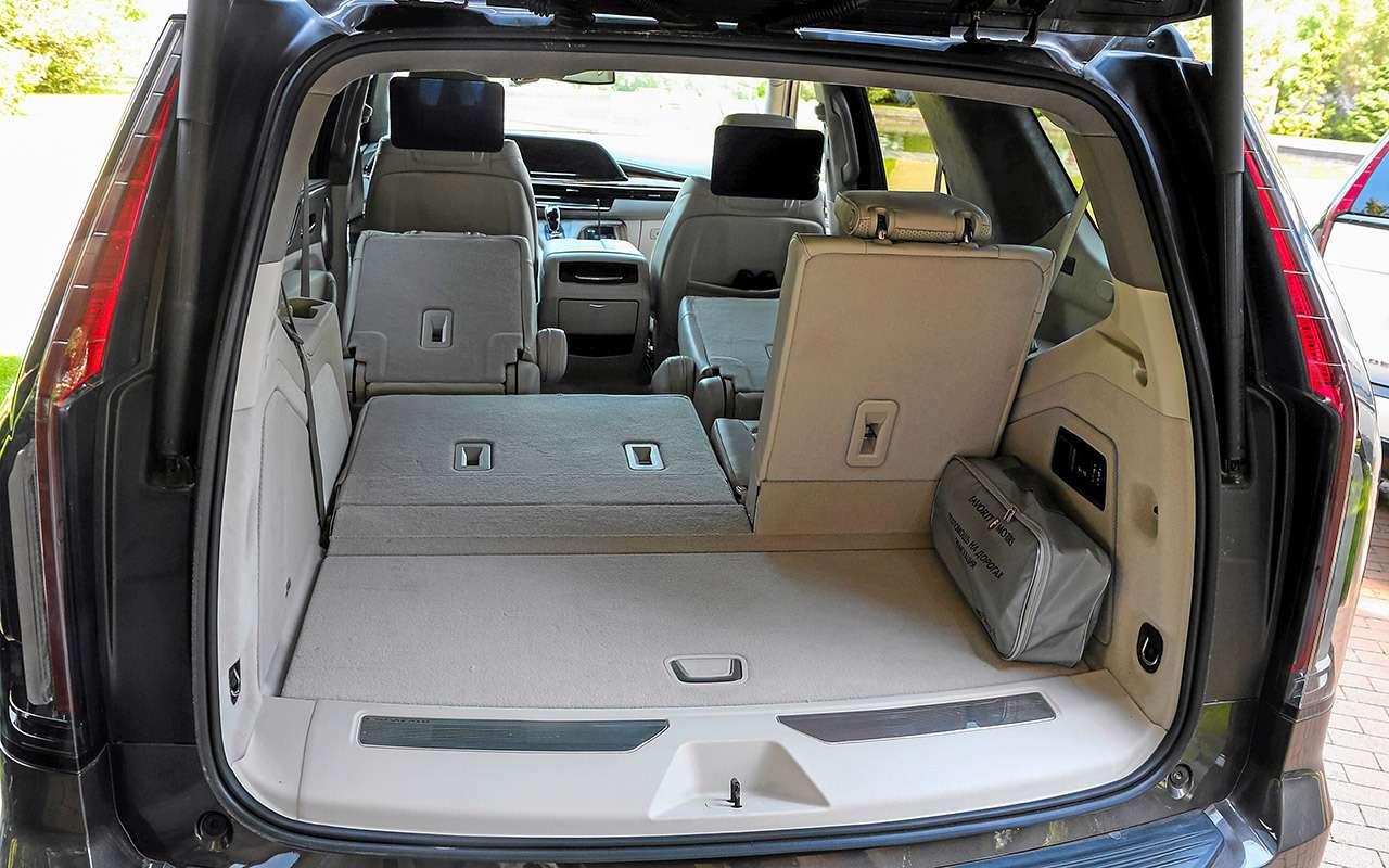 Новый Cadillac Escalade: 3дисплея, 36динамиков, 416«лошадей»— фото 1268629