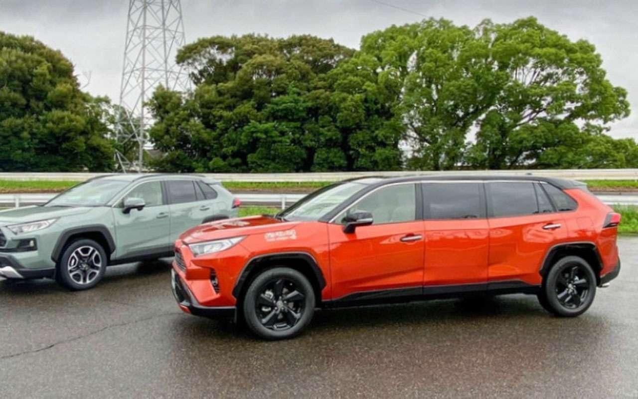 Тойота сделала из RAV4 лимузин - фото 1151562