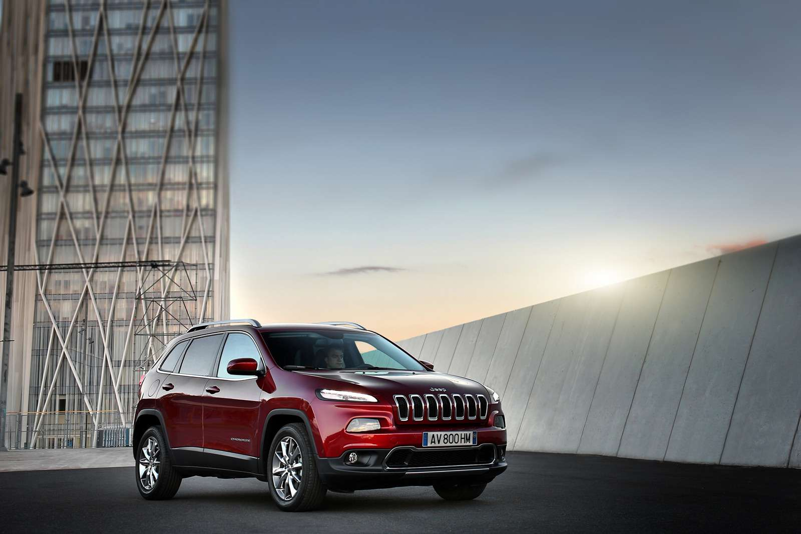 Theall-new 2014 Jeep Cherokee Limited isthe first mid-size SUV