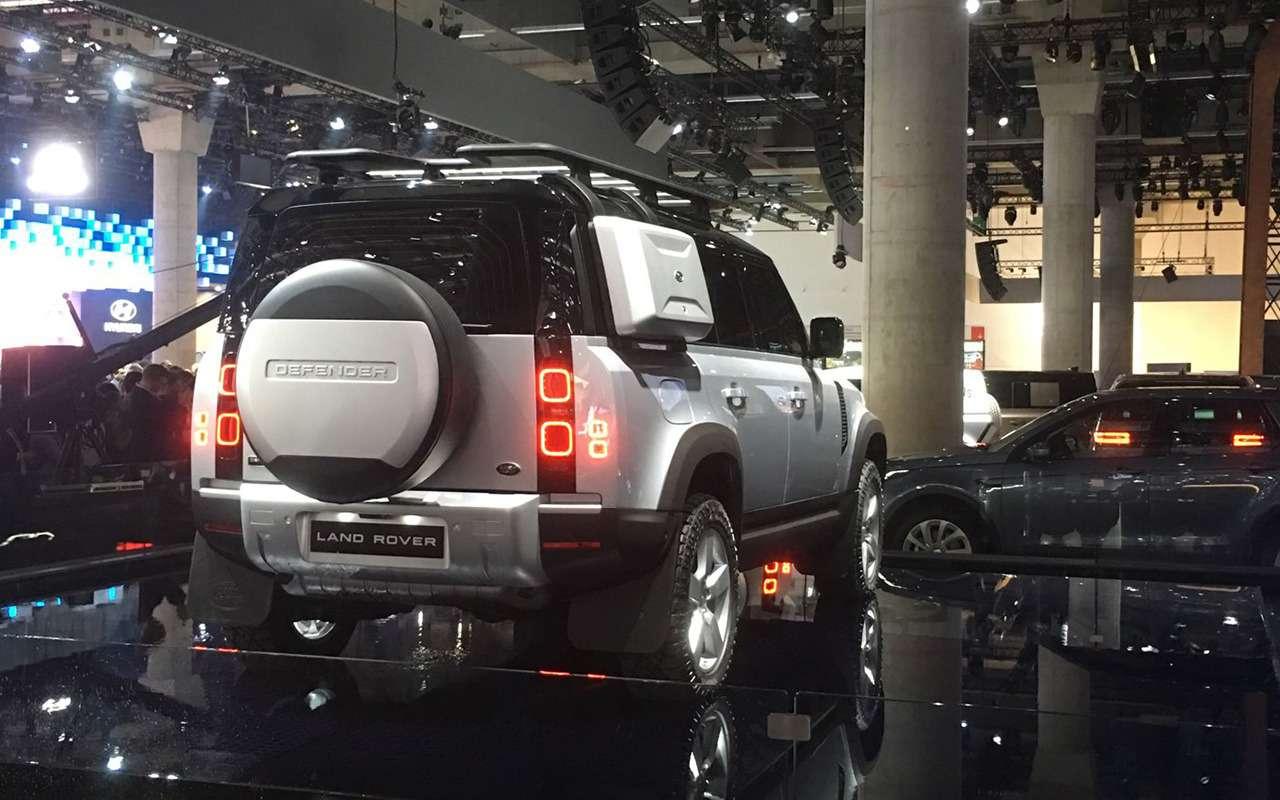 Новый Land Rover Defender: онбольше не рамный!— фото 995246