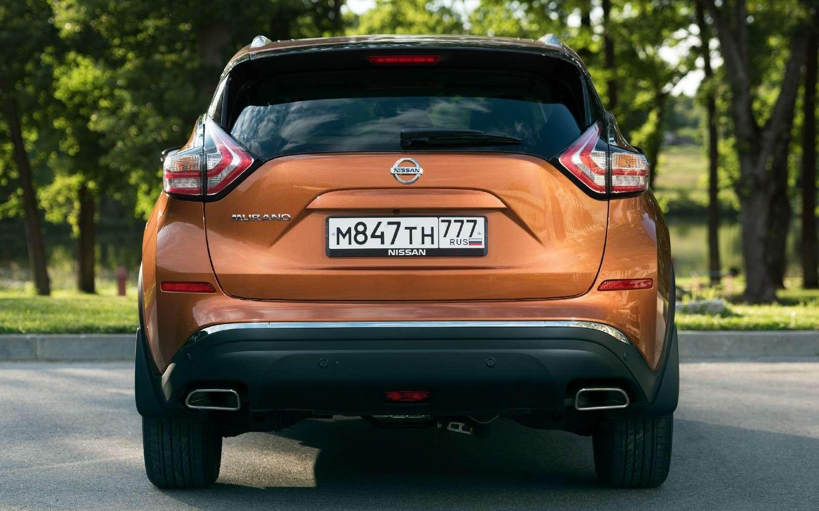 Объявлены рублевые цены нановый Nissan Murano— фото 614362