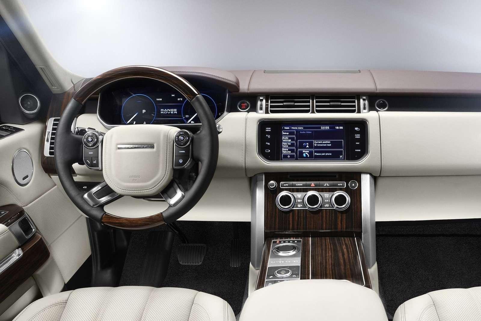 Land Rover Range Rover inside_no_copyright
