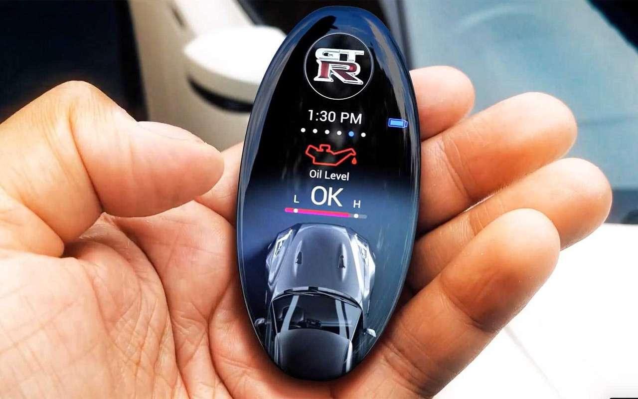 Nissan разработал дляGT-R невероятный ключ— фото 935880