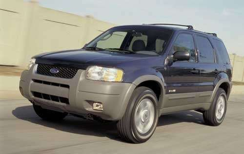 no copyright 2002 ford escape