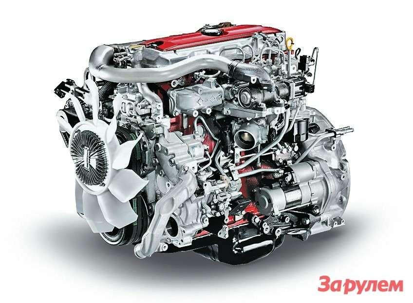 Моторы Hino серии N04C выпускают уже около десяти лет