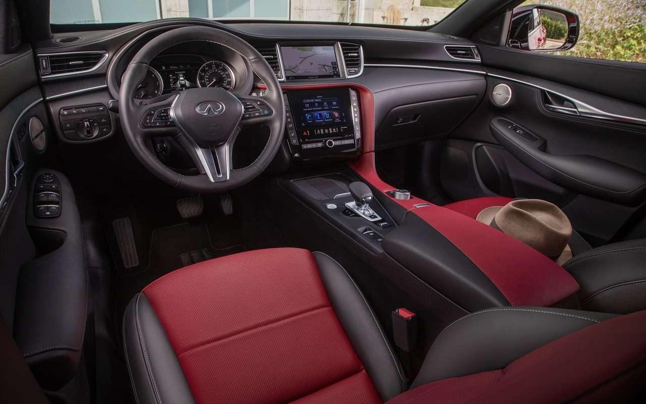 Новый купе-кроссовер Infiniti: фото QX55— фото 1202570
