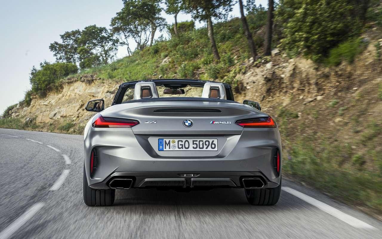 Новый BMW Z4: российские цены икомплектации— фото 908913