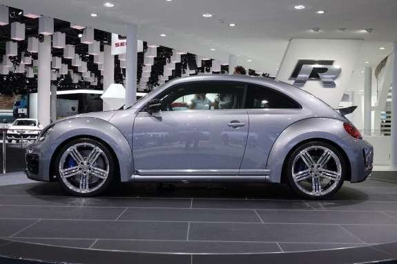 Volkswagen Beetle R concept side view