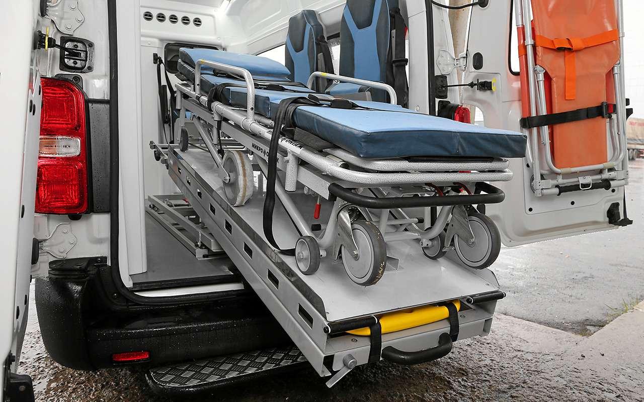 Какустроен современный автомобиль скорой помощи— фото 875252
