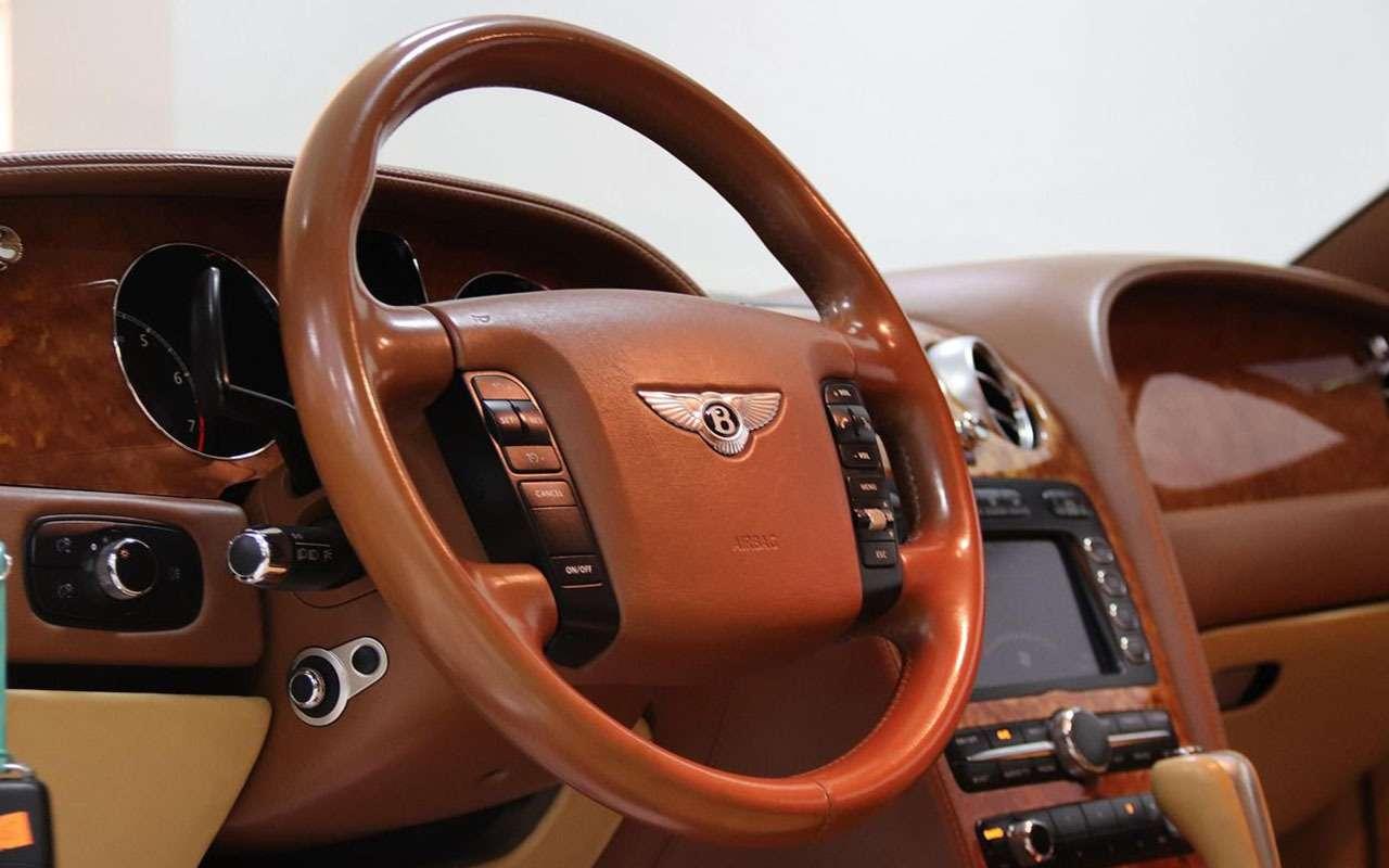 Роскошь недорого: как выбрать Bentley спробегом (инеразориться потом)— фото 1243398