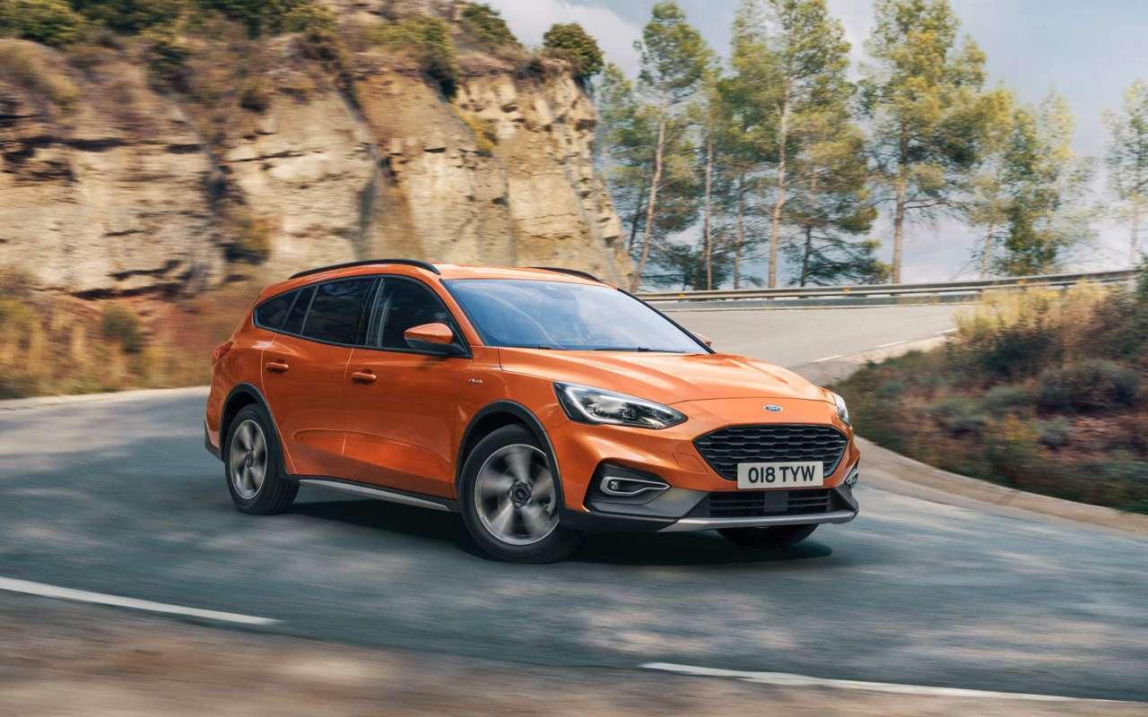 Ford показал новый вариант Focus— фото 924944