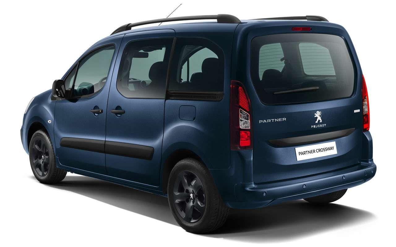 Peugeot начал продажи нового внедорожного Партнера— фото 1231647