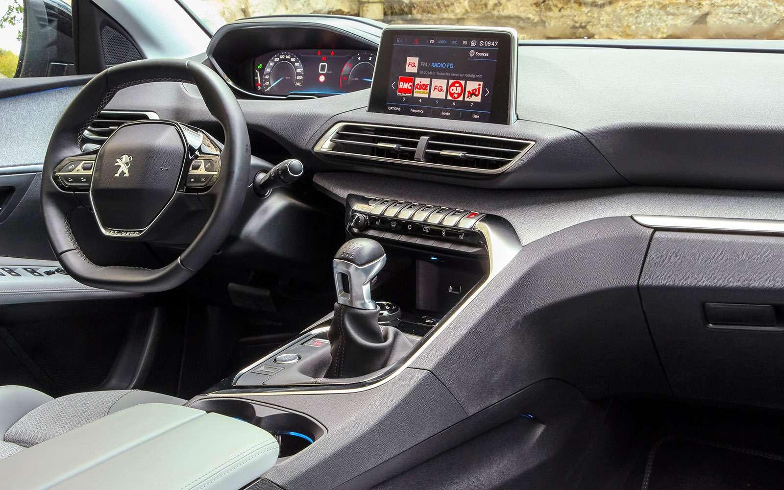 Автомобиль года: тестируем Peugeot 3008— фото 759122