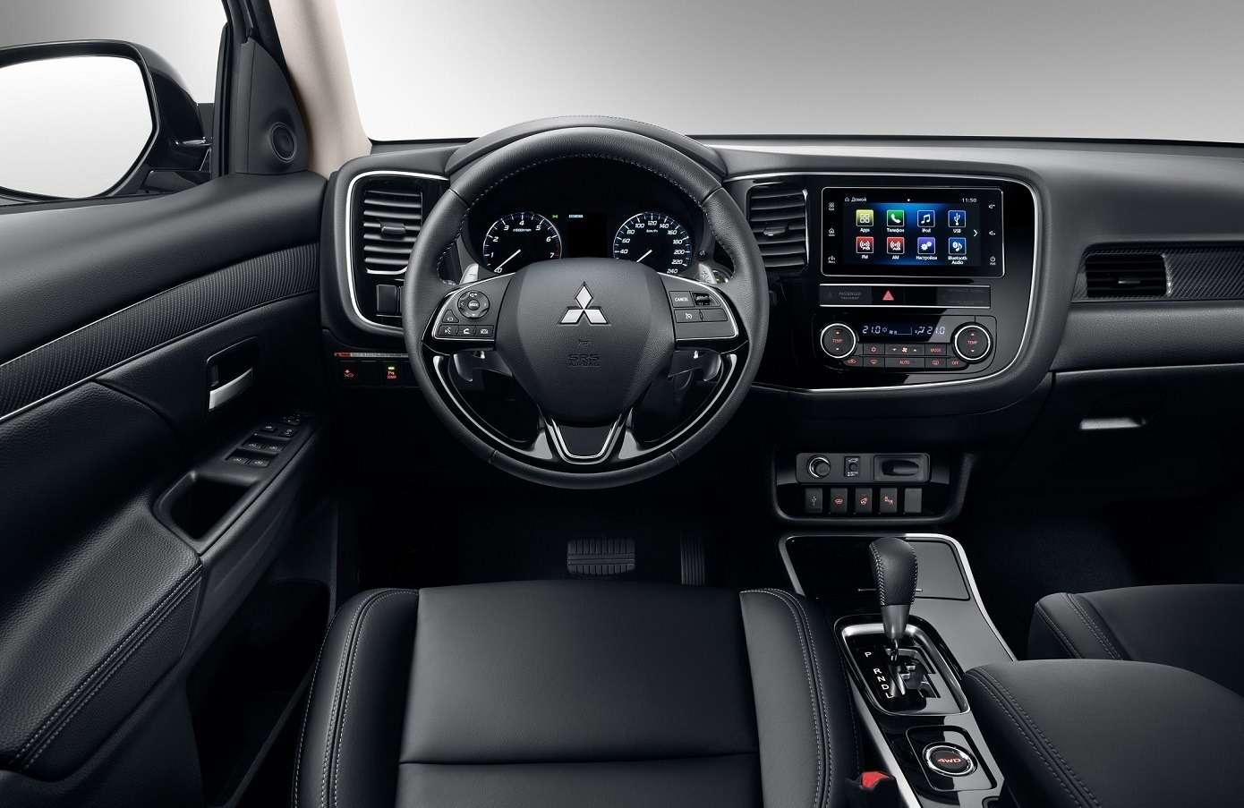 Обновленный Mitsubishi Outlander: цены икомплектации— фото 903702