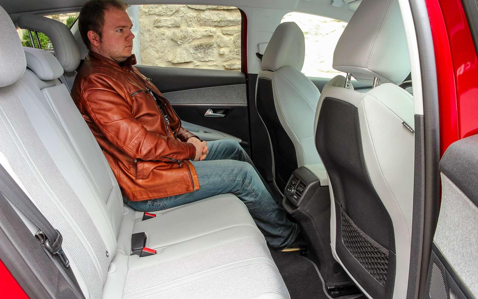 Автомобиль года: тестируем Peugeot 3008— фото 759126