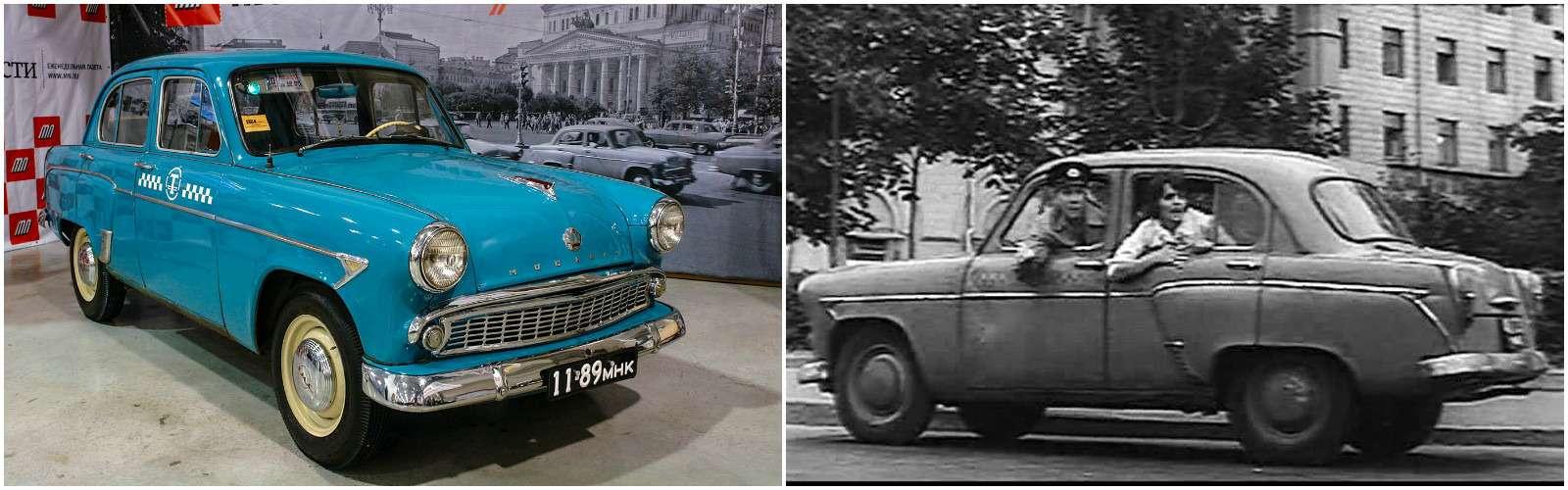 Москвич-407, Зеленый огонек, 1964г., режиссер В.Азаров.