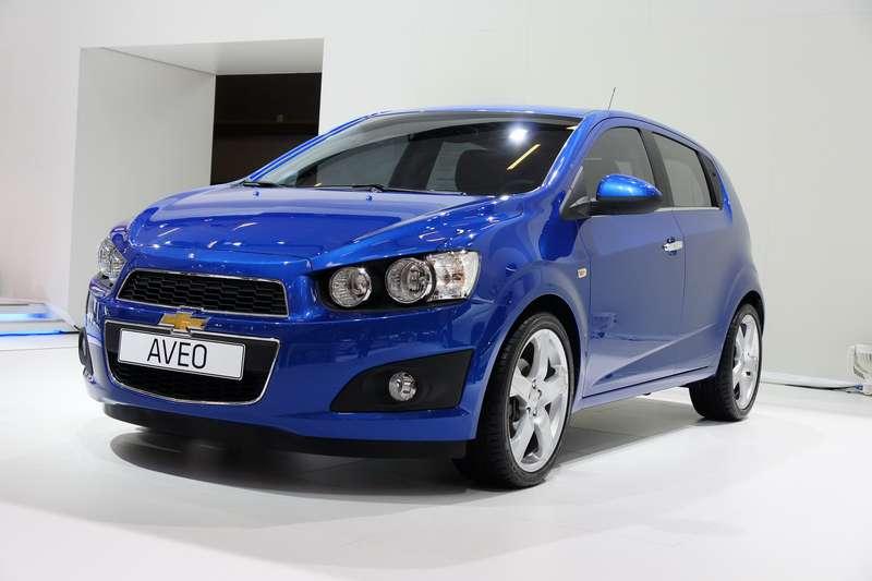 no copyright 2011 Chevrolet Aveo