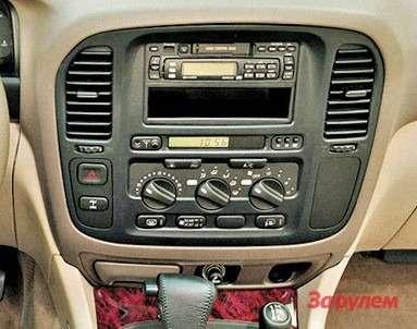 Комплектация Toyota Land Cruiser 100