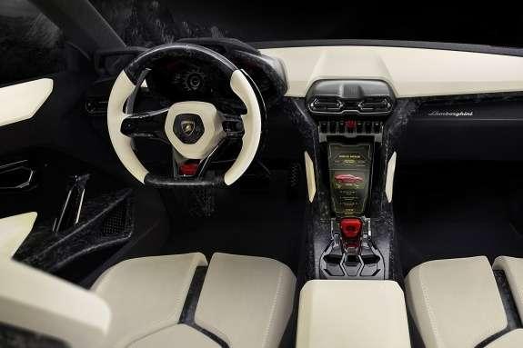 Lamborghini Urus Concept inside 3