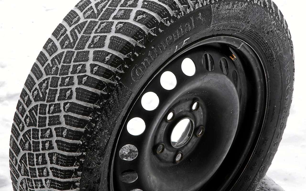 Шипованные шины 185/65R15для бюджетных автомобилей— тест «Зарулем»— фото 794345