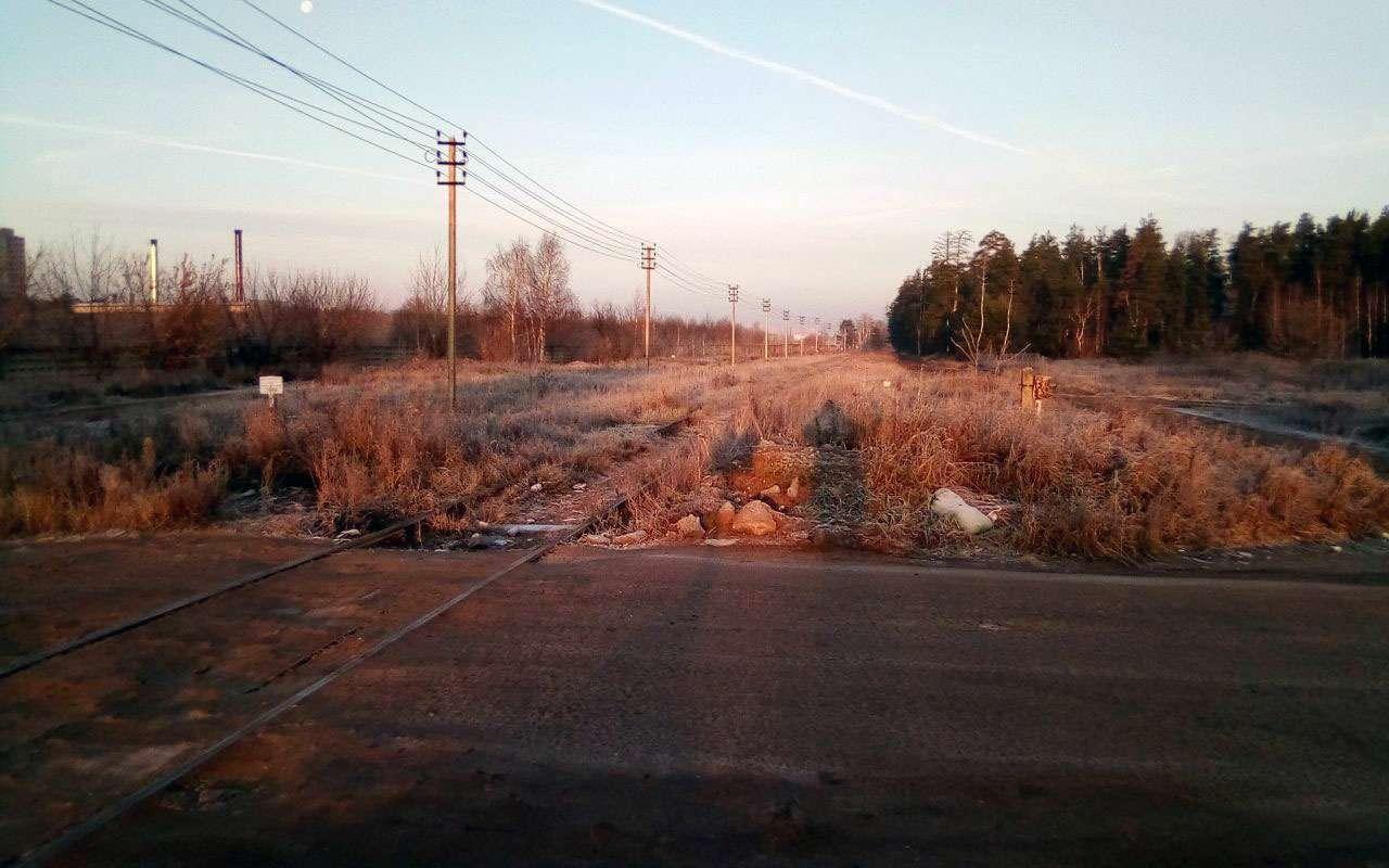 РЖДотрежет отцивилизации поселок вПодмосковье, закрыв ж/д переезд. Говорят, его не существует!— фото 1009080