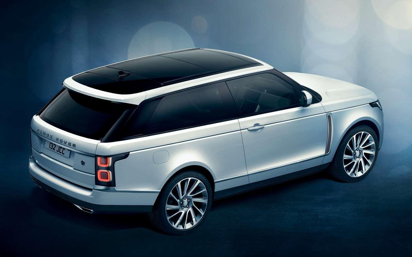 Range Rover SVCoupe: трехдверный, ноне укороченный!— фото 851199