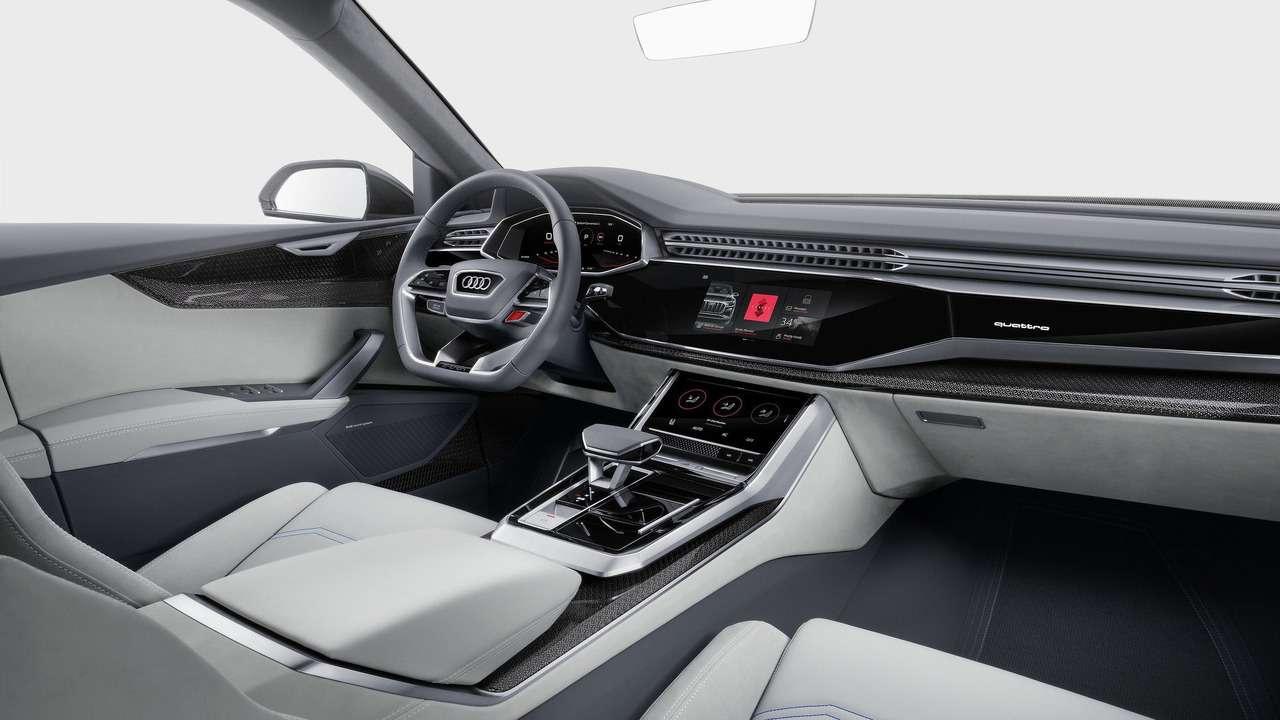 Угол зрения: концептуальный кроссовер Audi Q8поведал отоварной модели— фото 690567