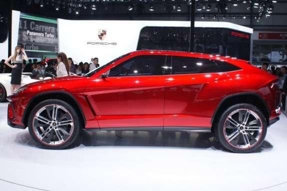 Lamborghini Urus Concept side view