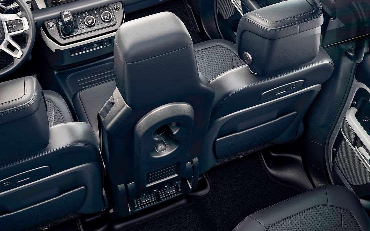 Новый Land Rover Defender: перечисляем главные отличия— фото 998219