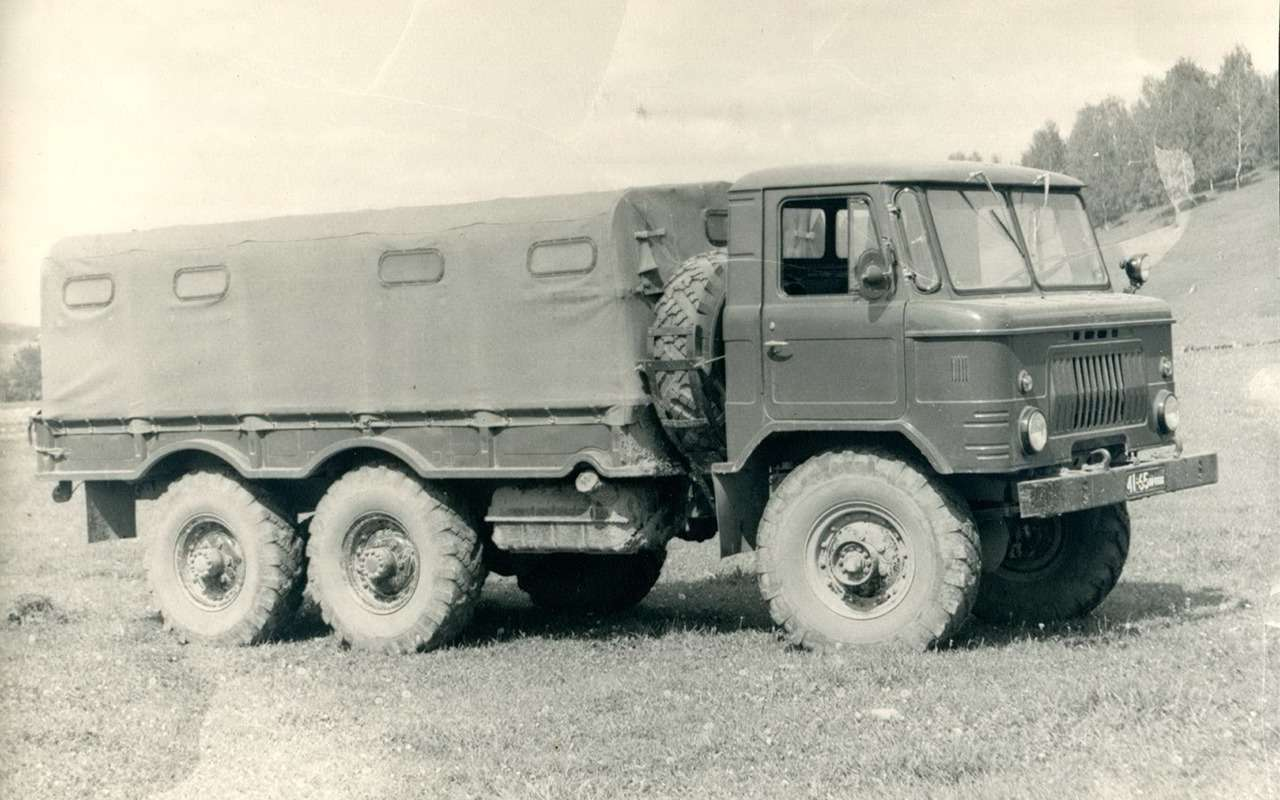 Наши грузовики, которых выникогда не видели— фото 875238