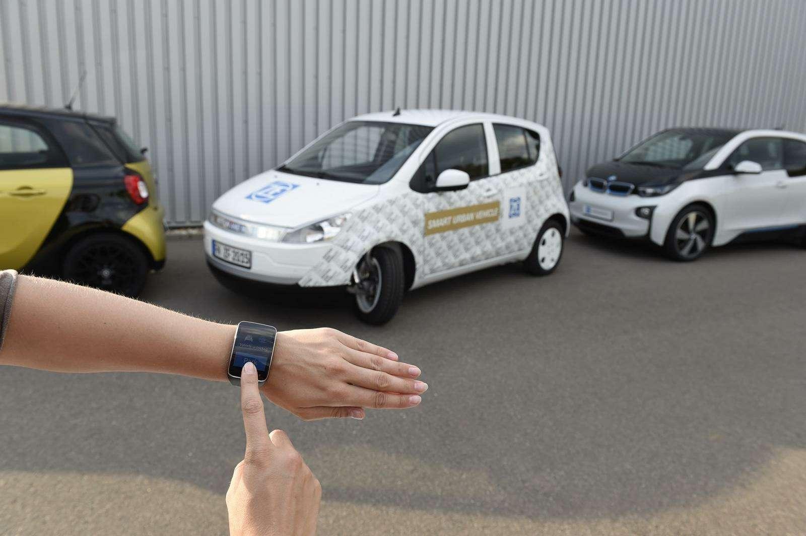 Концепт ZFSmart Urban Vehicle
