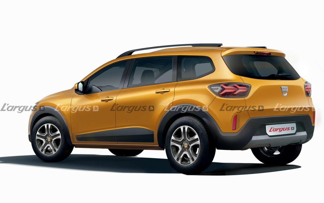 Renault готовит новый Largus— слитровым двигателем— фото 1126006