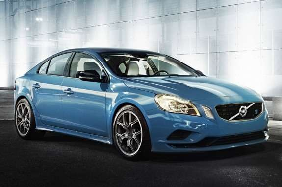 Volvo S60 Polestar Performance Concept side-front view