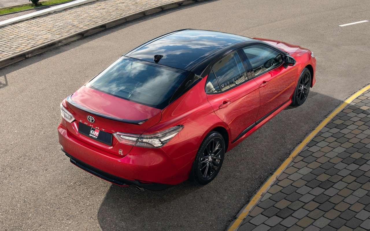 Обновленная Toyota Camry— 2новых мотора— фото 1233993