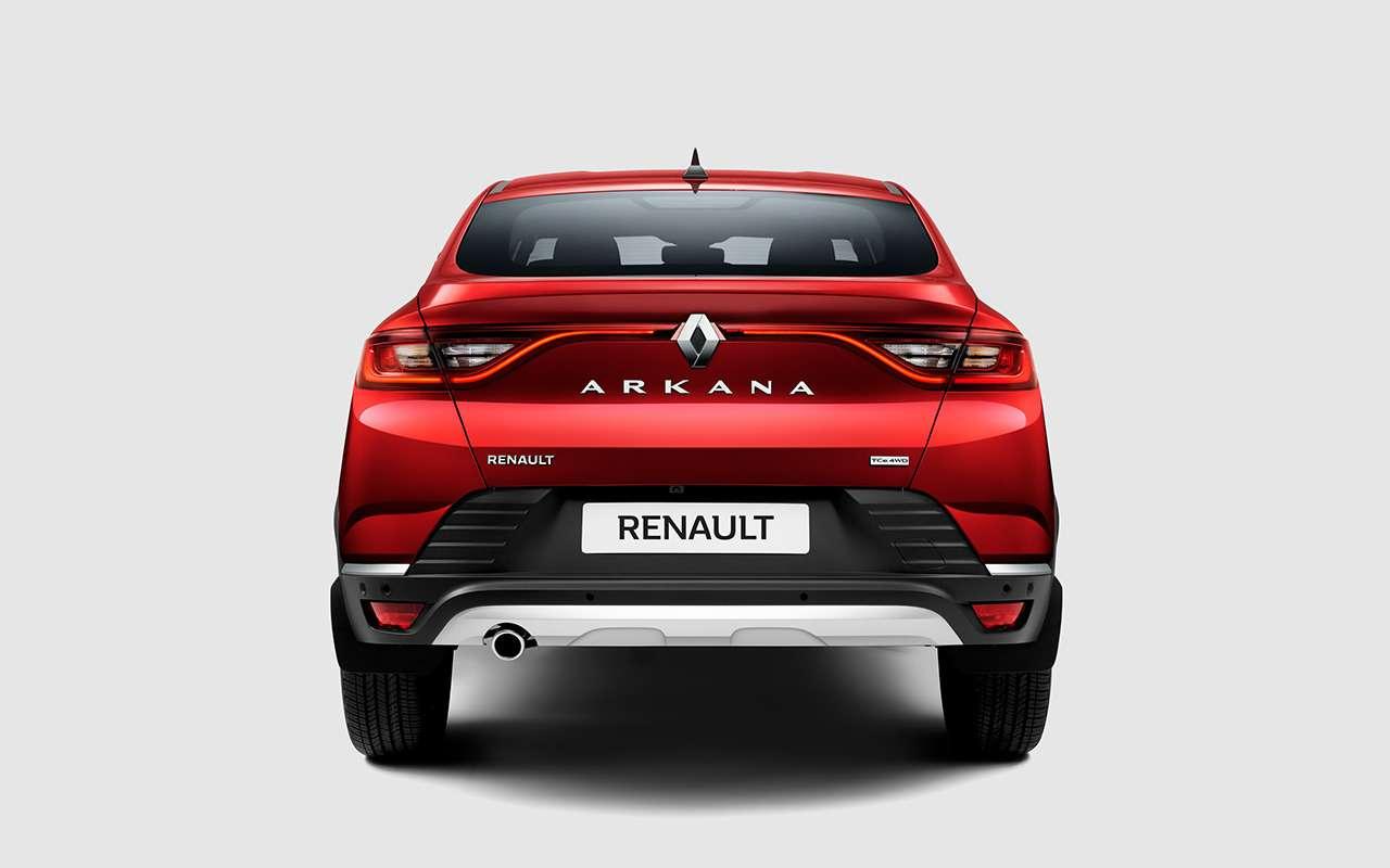 Всесекреты Renault Arkana— откровения эксперта— фото 980956