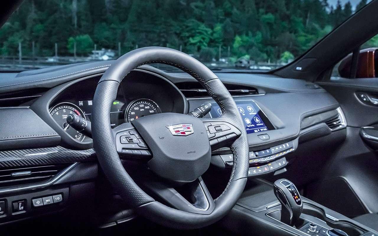 Cadillac XT4: первый тест-драйв «бейби-Кадиллака»— фото 905659